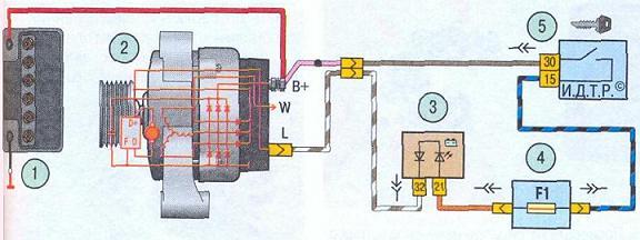 генератор. фары на опель