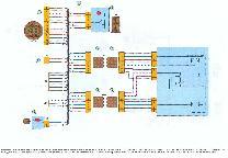 Электросхема проводки водительской двери Лада Калина до 2007 года