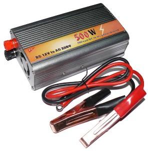 Автомобильный преобразователь напряжения (ИНВЕРТОР) 12/220 - 500 ВТ.