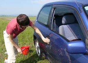Как правильно мыть автомобиль руками