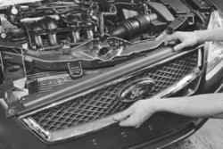 регулировка замка капота Ford focus