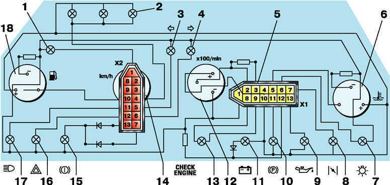 Электрическая схема работы автономного отопителя х7-1м Руками схема панели приборов низкой панели и схема...