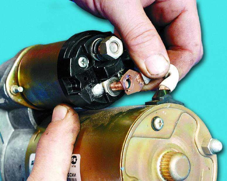 Фото №1 - ремонт стартера ВАЗ 2110