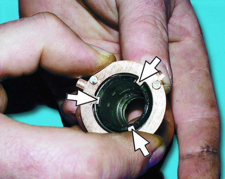 ВАЗ 2110.  Тормозная система.  Выключатель (замок) зажигания - Замена контактной группы.