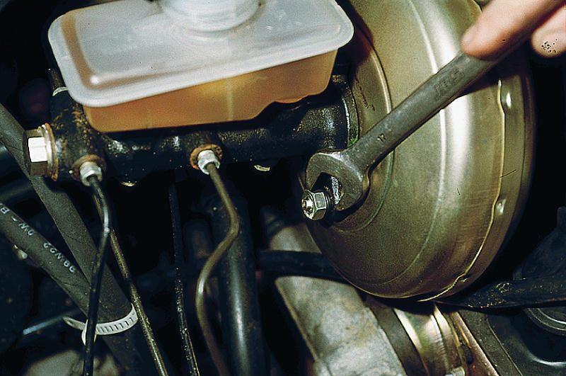 Фото №23 - неисправности вакуумного усилителя тормозов ВАЗ 2110