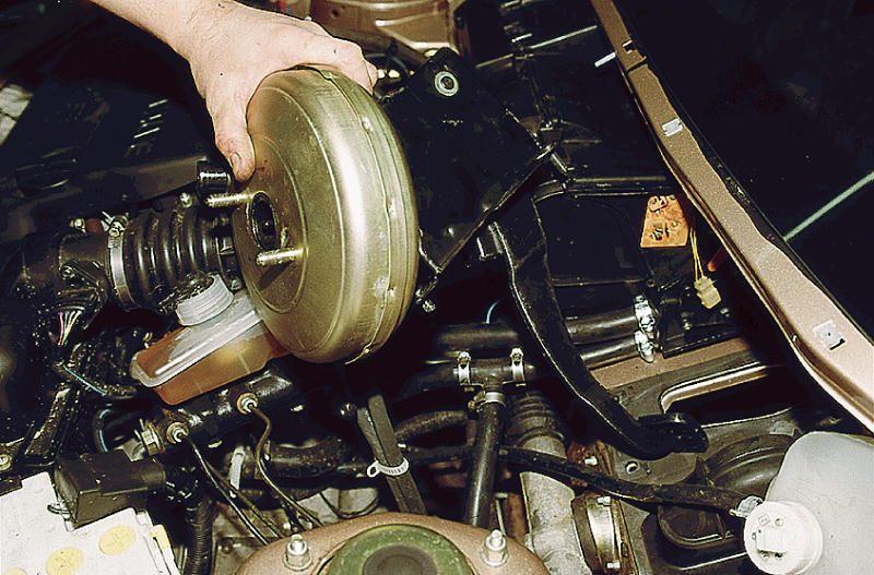 ремонт вакуумного усилителя тормозов ваз 21213 #12