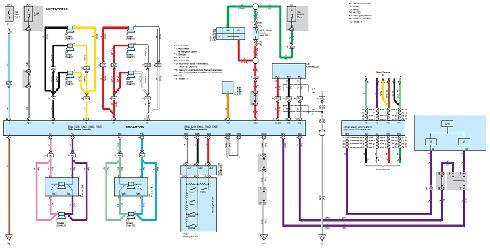 ...схема в развернутом виде скачать электрическая схема toyota corolla fielder королла филдер подробная электросхема...