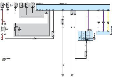 Электрическая схема toyota corolla система