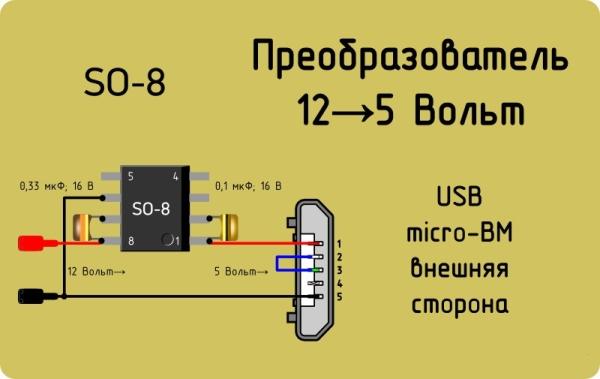 Зарядное устройство на 5 вольт своими руками