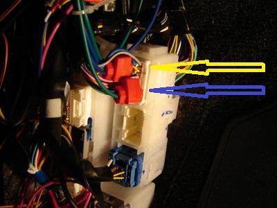 Минусовой провод сигнализации
