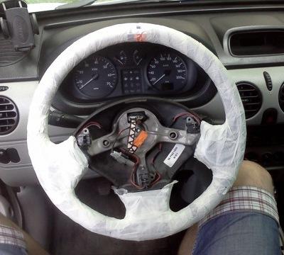 Кожанная оплетка на руль. Как обтянуть руль кожей своими руками