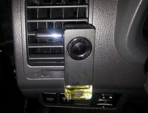 Заправка автомобильного ароматизатора