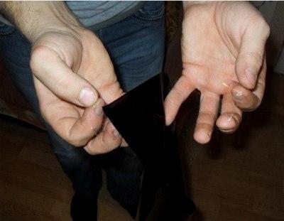 Съемная тонировка своими руками