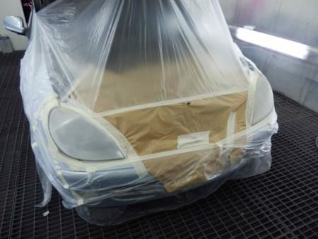 Восстановление прозрачности фар без полировки, посредством нанесения лака