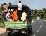 Правила перевозки людей в грузовом фургоне